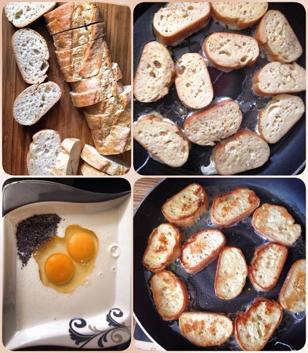 Armer Ritter Rezept l Was tun mit altem Brot l Fotzelschnitten-Rezept l French Toast