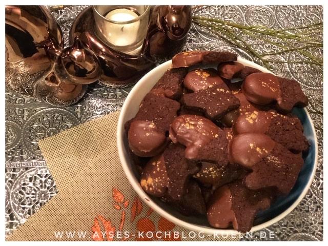 Einfache Schokoladen Plaetzchen mit Nutella l Nutella Plaetzchen