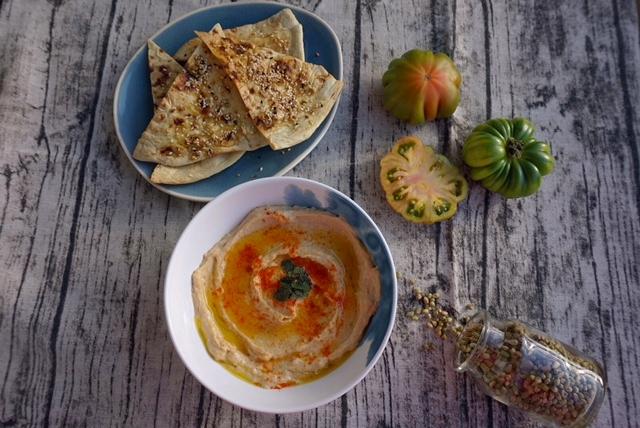 Das beste Hummus-Rezept der Welt mit einer Geheim-Zutat l vegan