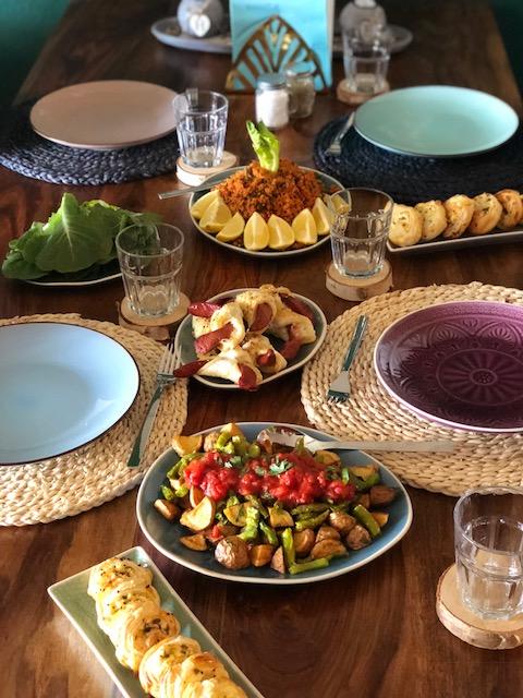 Frittiertes Gemuese mit Tomatensosse l Kizartma l Tuerkische Vorspeise
