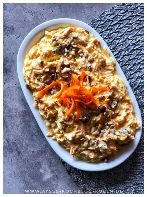 Tuerkischer Moehren Dip l tuerkischer Karotten Dip