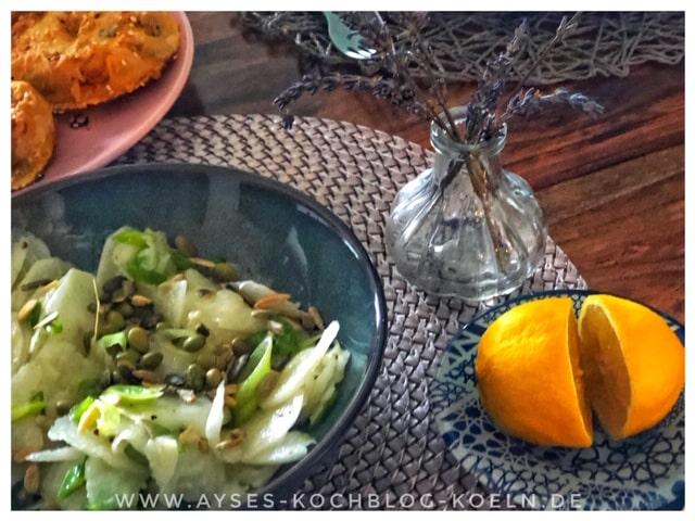 Edamame Salat l Edamame Rettich Salat