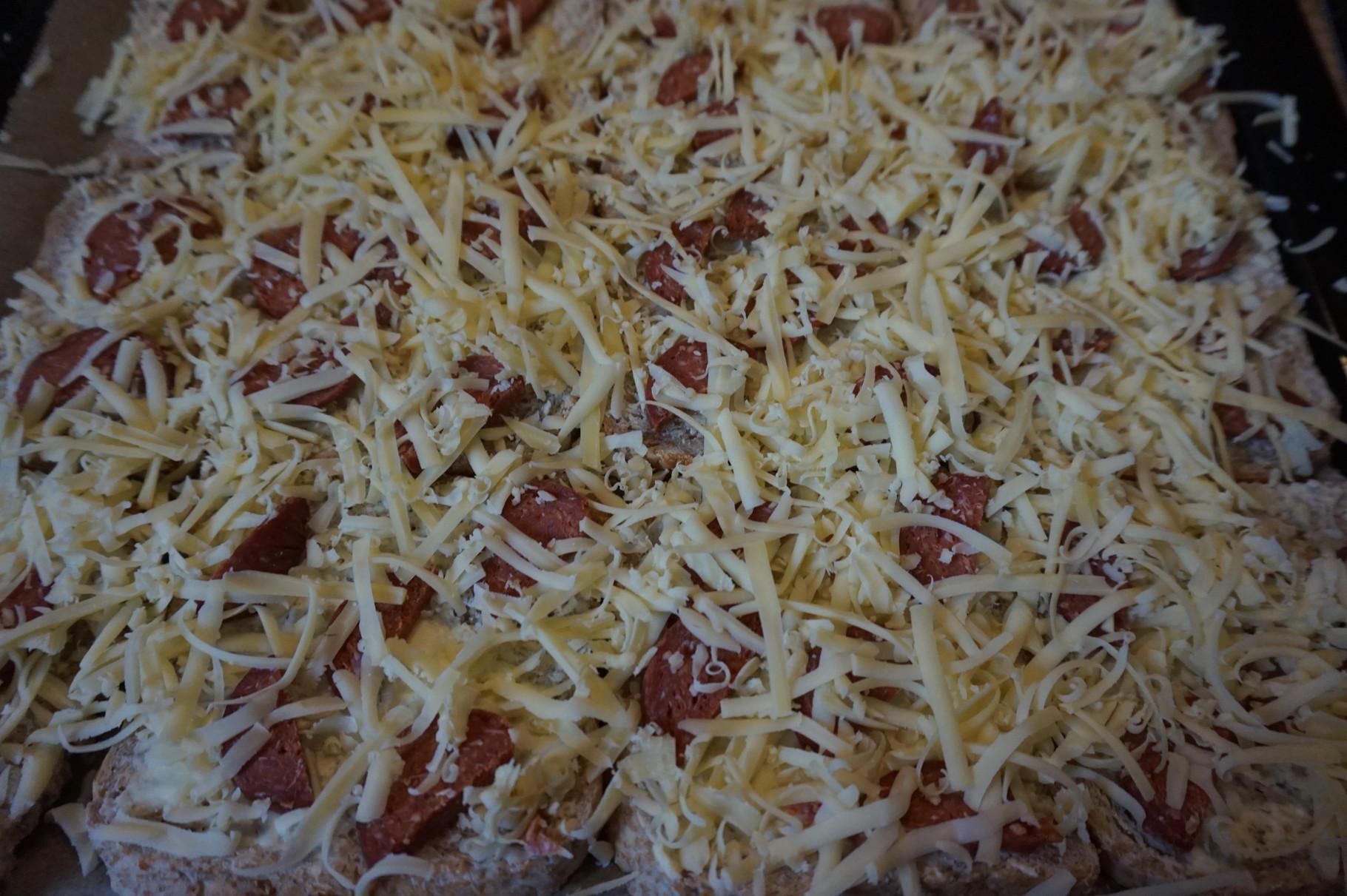 Käse drüber - schnelle Toastpizza