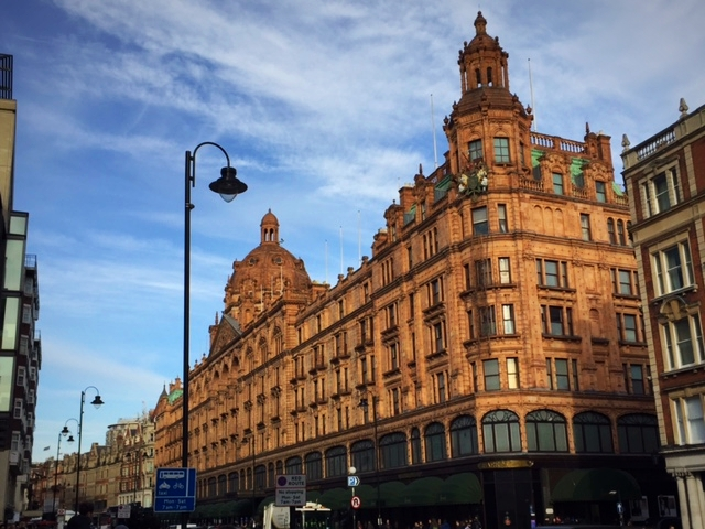 Tea Time im Harrods in London  Erfahrungsbericht in UK