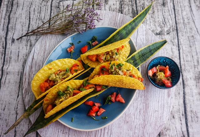 Taco Tuesday l Shrimp Tacos mit Guacamole - Taco Kylie Jenner Style l Garnelen Tacos