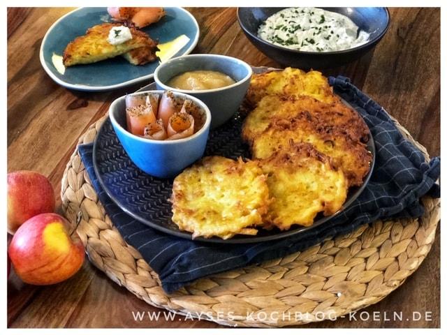 Echte Reibekuchen Rezept l rustikale Reibekuchen l Kartoffelpuffer einfach