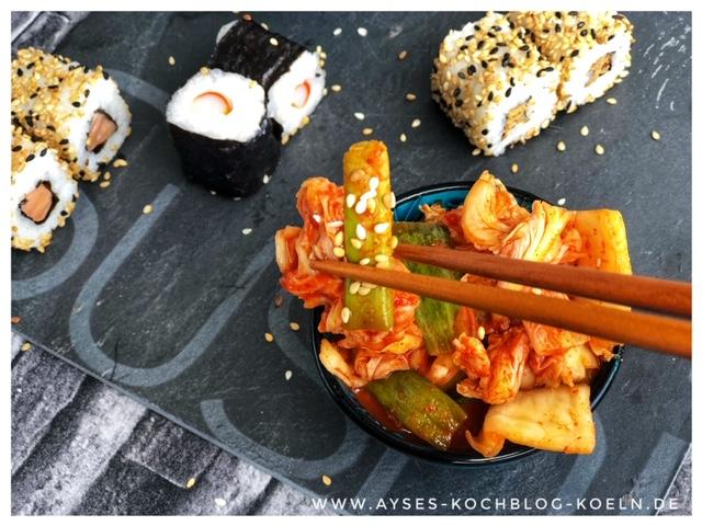 selbstgemachtes Kimchi Rezept – Fermentierter Kohl im Glas l Kimchi Comme ca