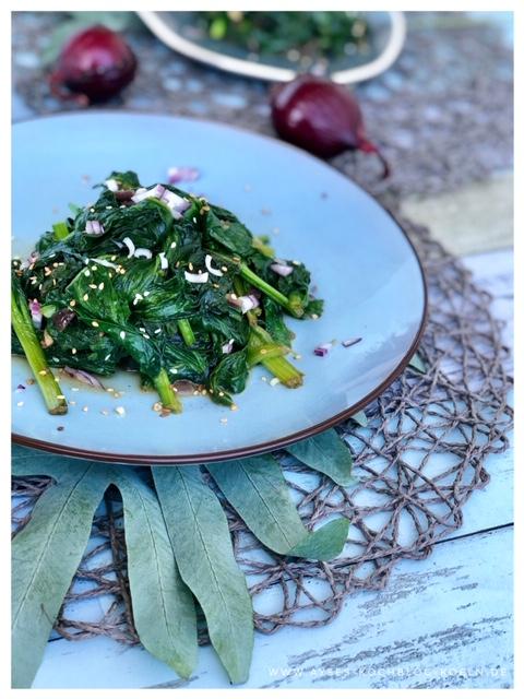 Leckere Spinatpfanne a la Jamie Oliver l bestes Rezept fuer Spinat l wie Spinat zubereiten