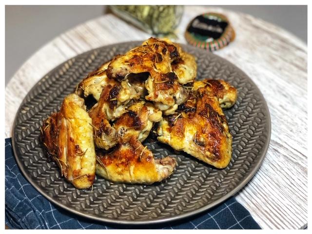 Rosmarin-Butter Chicken Wings l Rosmarin Haehnchen l Tuerkische Haehnchen-Marinade
