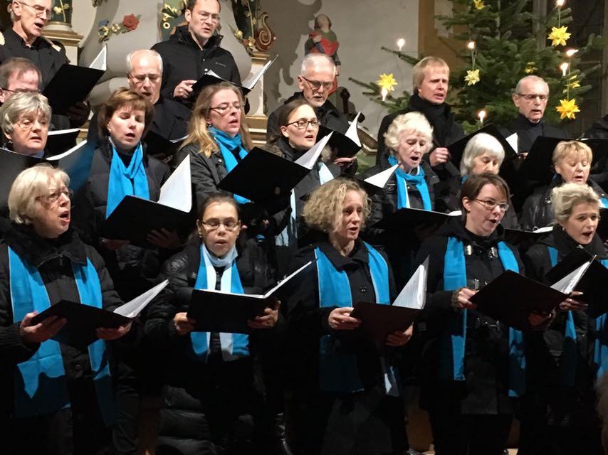 Weihnachtskonzert in Oßmannstedt, Dezember 2017