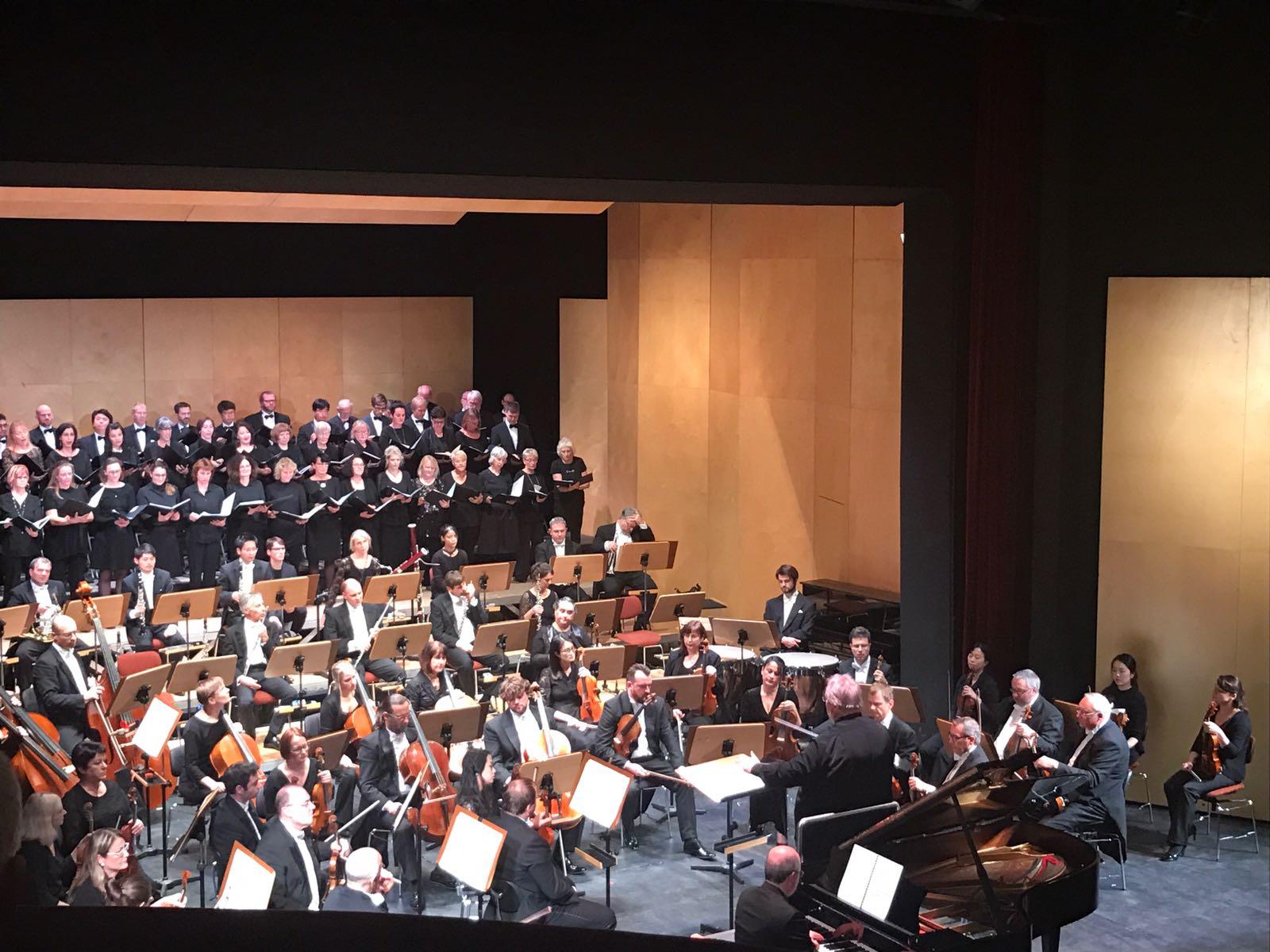 Sinfoniekonzert zur Reichspogromnacht im Theater Nordhausen 2018