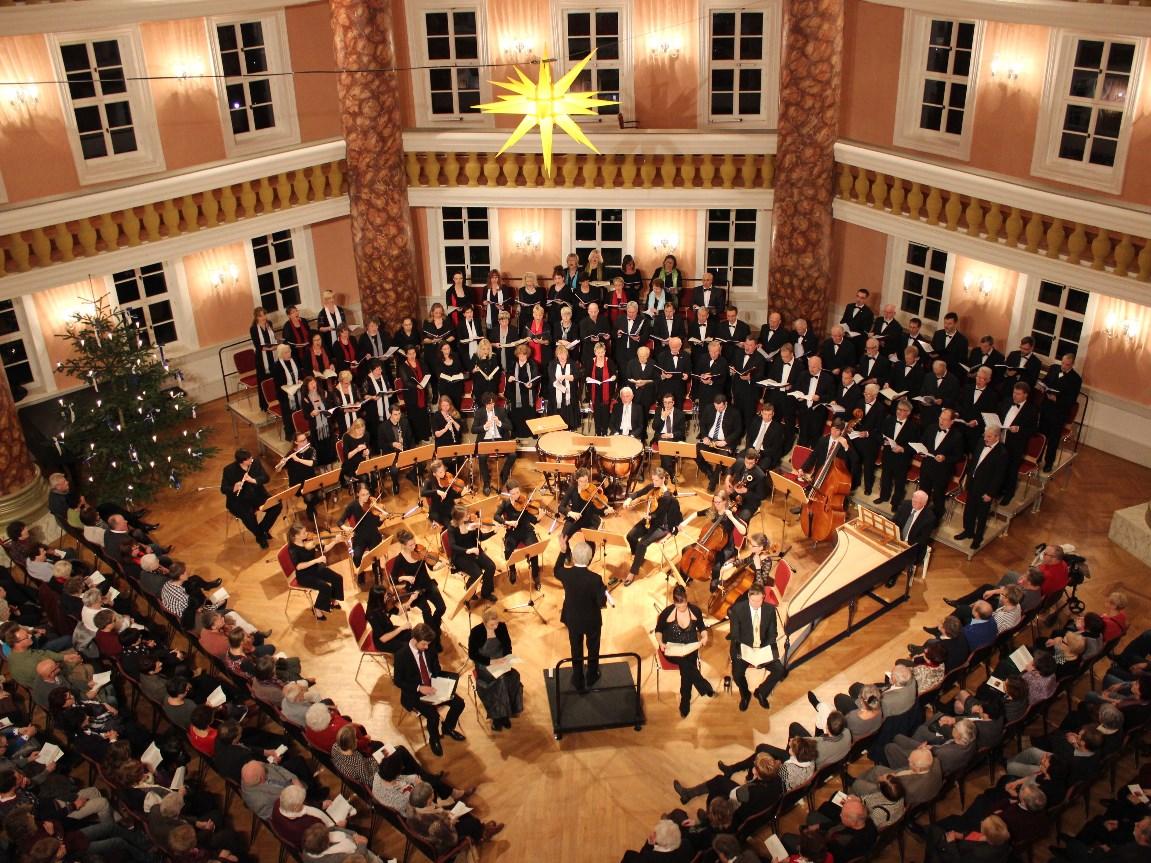 Weihnachtsoratorium im Schloss Sondershausen