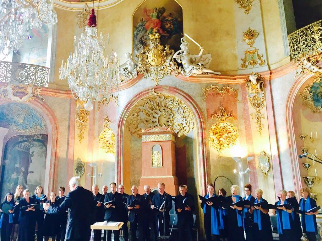 Konzert 2017 im Festsaal von Schloss Heidecksburg in Rudolstadt