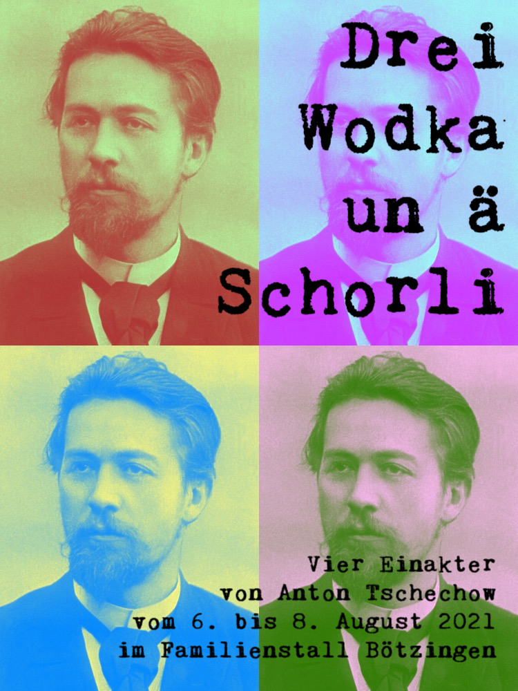 Drei Wodka un ä Schorli - Vorankündigung