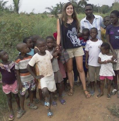 Les enfants du village de Badja