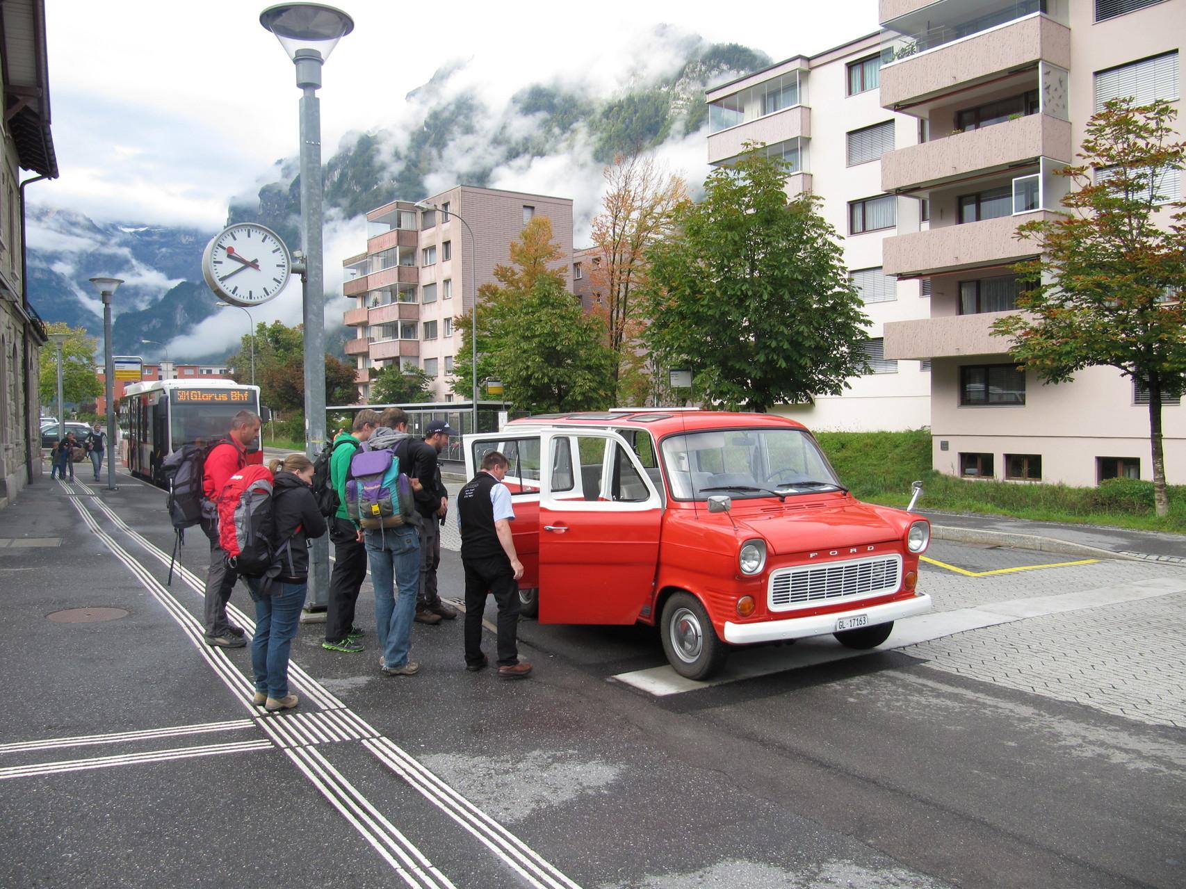 'Taxi' zum Obersee