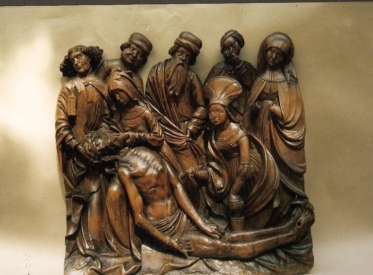 """descente de la croix europe de l'est 16 ième """"Petit Palais"""""""