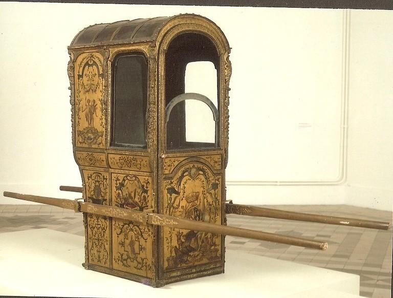 """chaise à porteur  """"Petit Palais"""""""