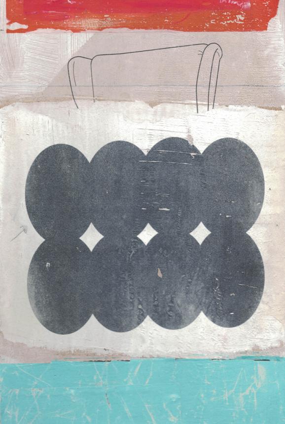 30cm x 20cm, Acryl auf Malplatte