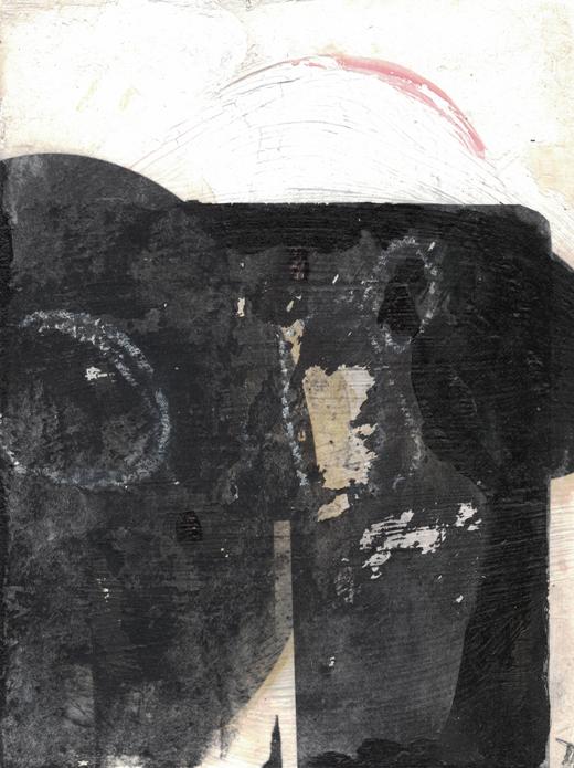 24cm x 18cm, Acryl auf Malplatte