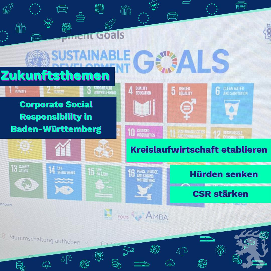 Veranstaltung: Welche Verantwortung tragen Unternehmen und wir als Gesellschaft beim Thema Corporate Social Responsibility?
