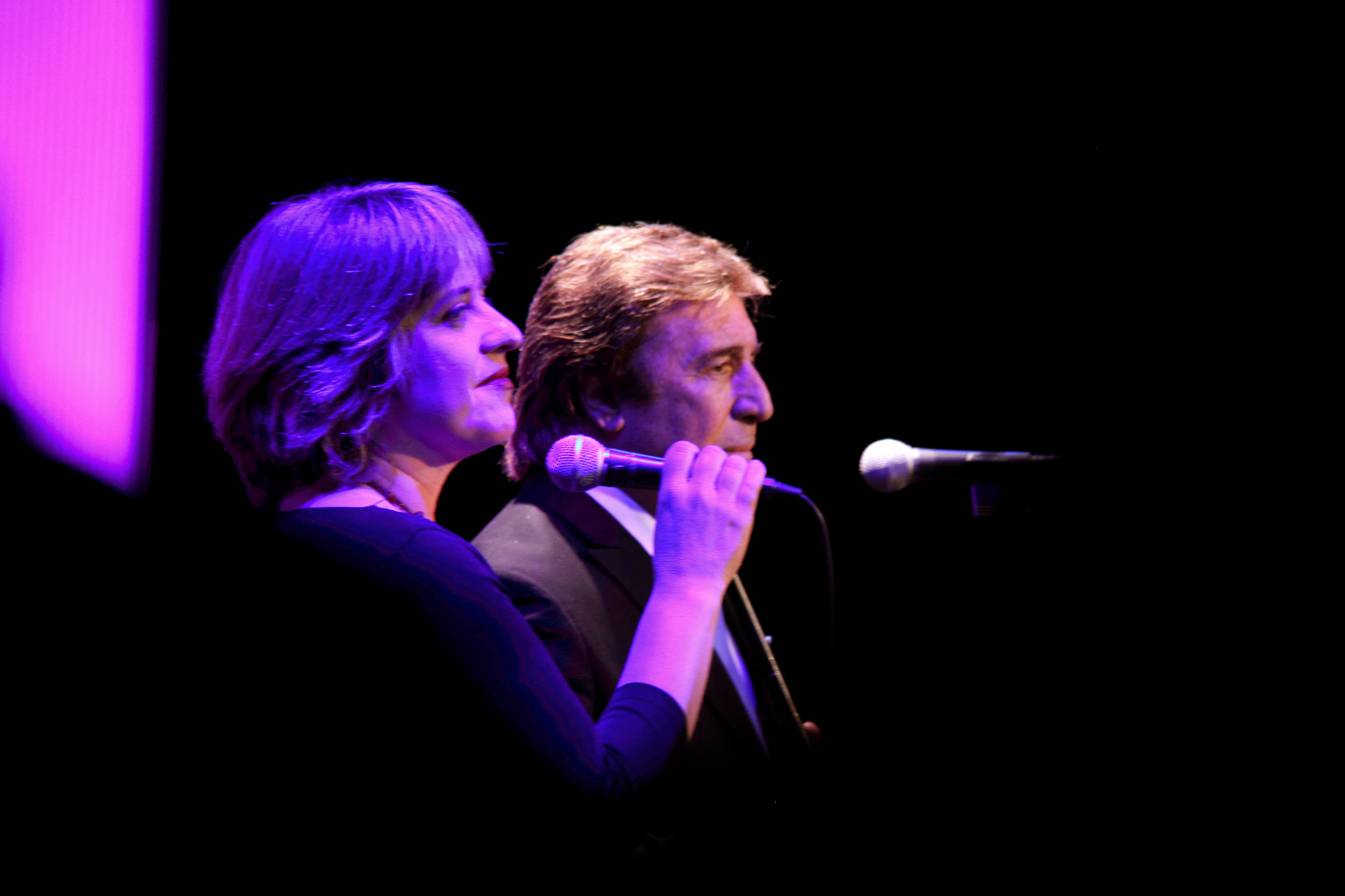 Ana Vassalo y Rubén Melogno