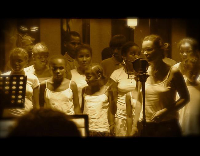 Malagasy Gospel con Carmen Ros. Grabación coros CD Chegará