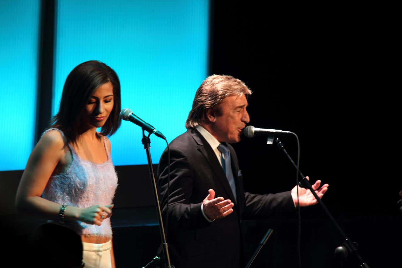 Marisa Tolentino y Rubén Melogno