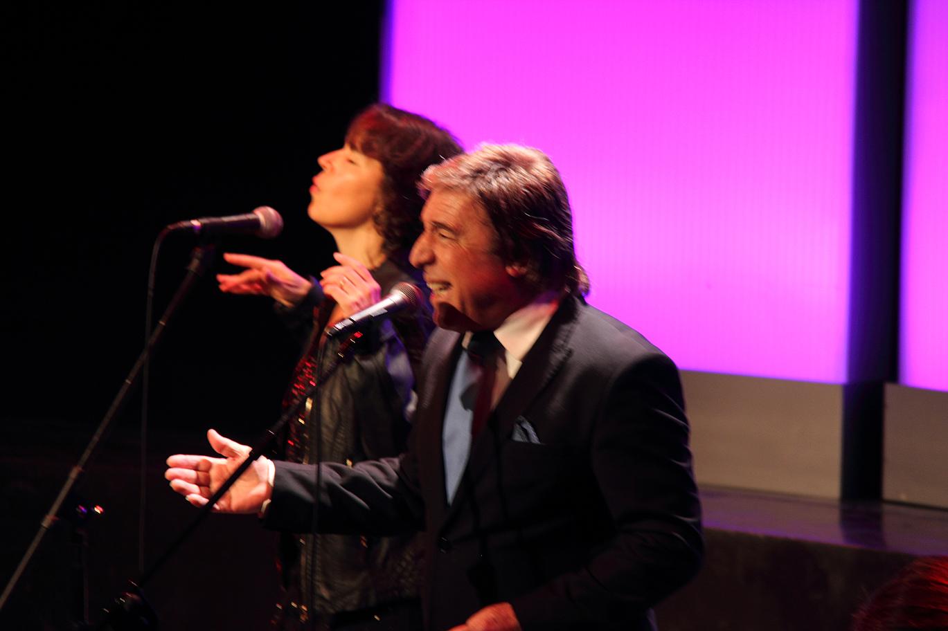 Rubén Melogno y Carmen Ros