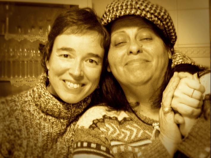 Carmen Ros y Lenna Pablo