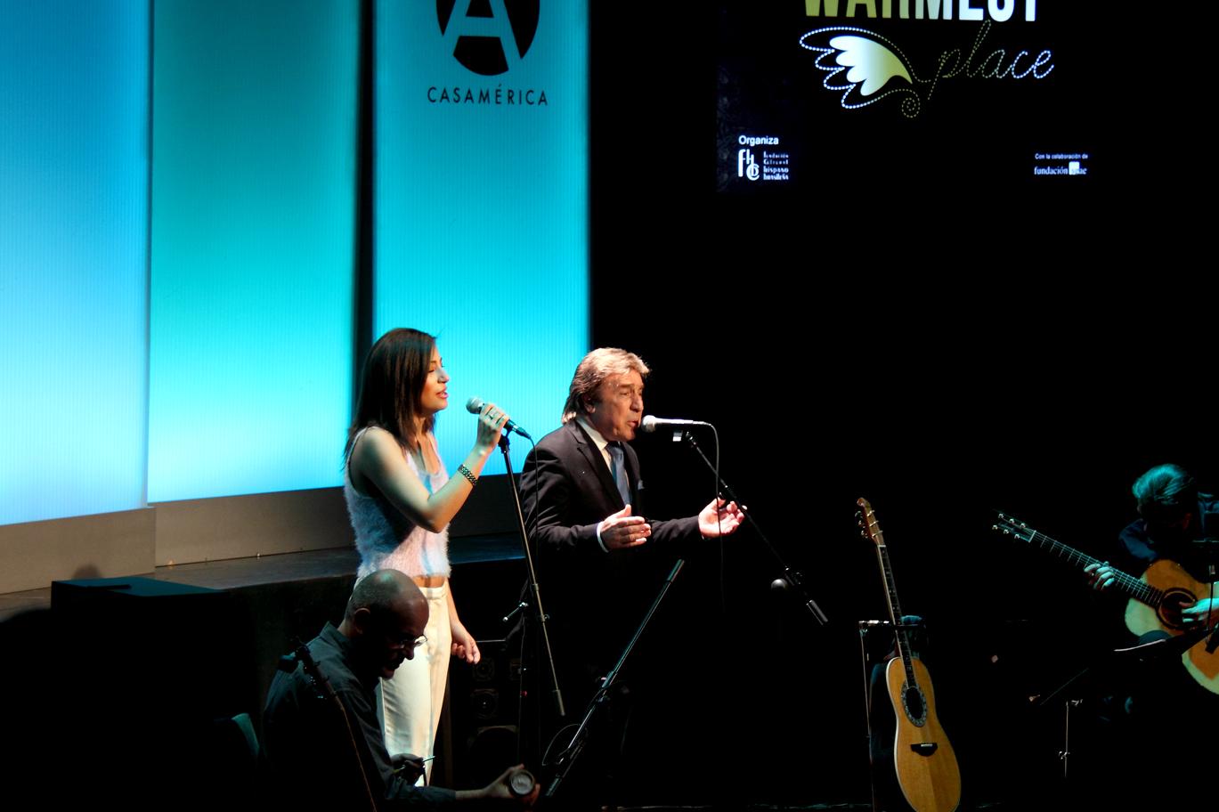 Isidro Solera, Marisa Tolentino, Rubén Melogno y Julio García
