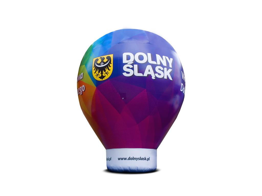 Bedruckter Werbeballon
