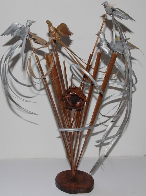 harpe de coco / birdy harp