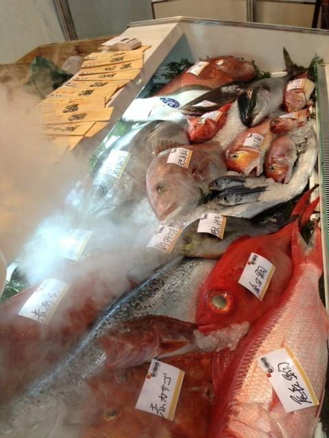 鮮魚は鮮度が命