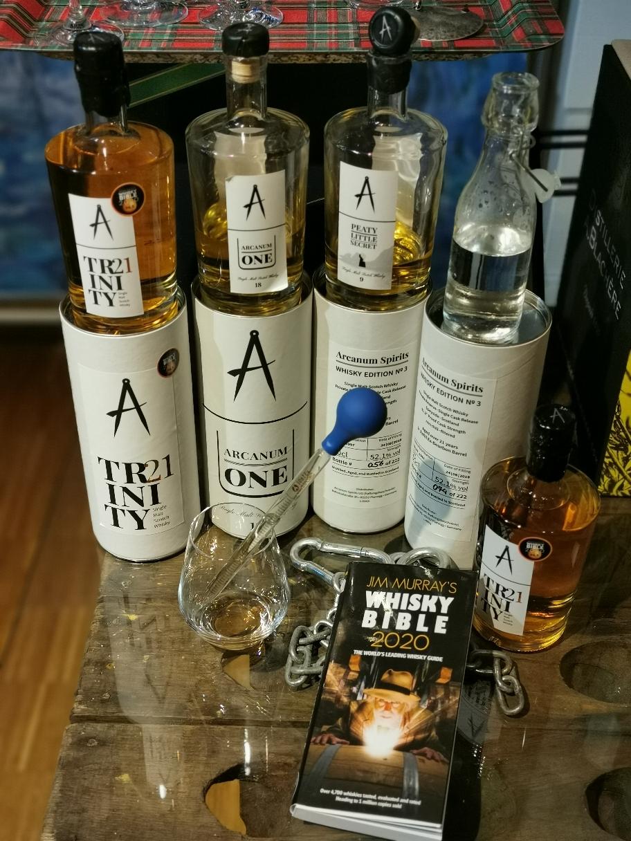 Arcanum Cask Strength ! Jim Murray's Liebling. Melde Dich zum Whisky Speed Dating an.