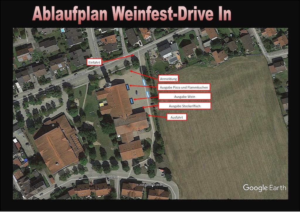 Ablauf: Weinfest Drive-In