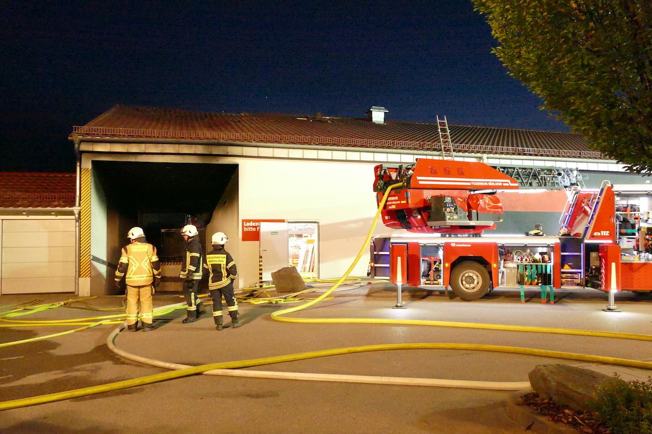 Einsatz 31 Penny Markt In Mühldorf Brennt Freiwillige Feuerwehr