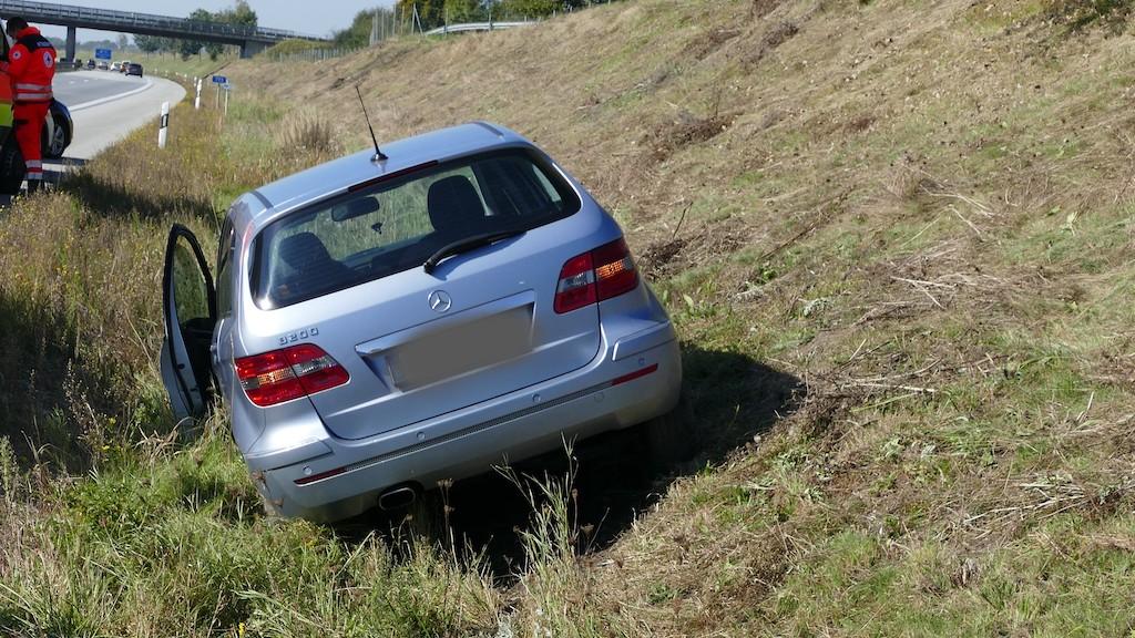Einsatz 159 - Verkehrsunfall auf der Autobahn A94