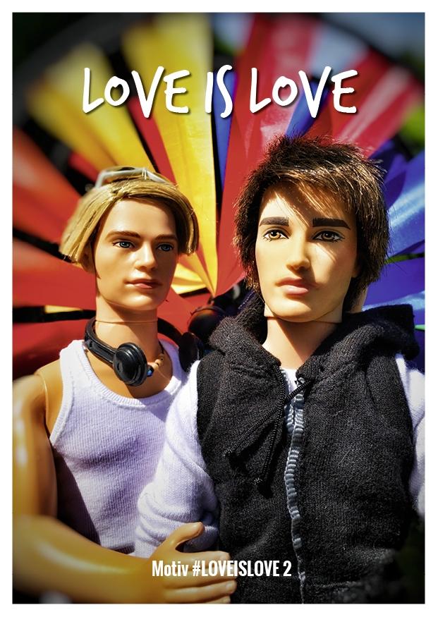 Motiv #LOVEISLOVE 2