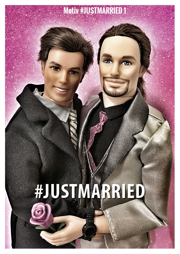 Motiv #JUSTMARRIED 1