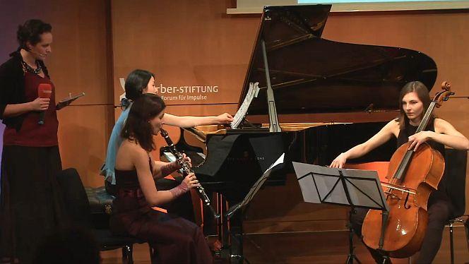 Das Trio Catch spielte die Musik Toshio Hosokawas (Foto: Körber-Stiftung)