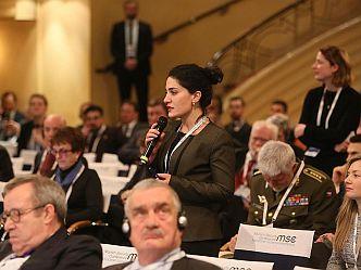 Die Munich Young Leaders beteiligen sich an der Münchner Sicherheitskonferenz (Foto: Marc Darchinger)