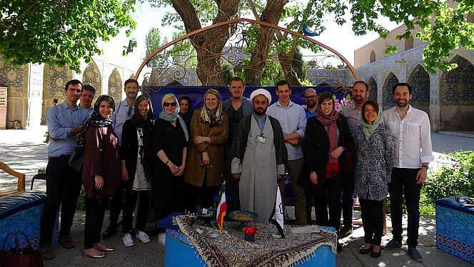 2017 besuchten die Mitglieder des Körber-Netzwerk Außenpolitik den Iran (Foto: Körber-Stiftung)