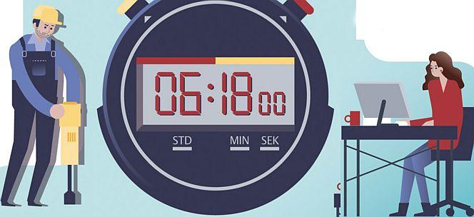Lebenszeit und Arbeitszeit können neu gestaltet werden (Grafik: Körber-Stiftung)