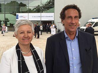 Karin Haist, Körber-Stiftung, und Julian Nida-Rümelin (Foto: Körber-Stiftung)
