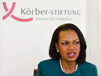 Condoleezza Rice sprach über die neue US-Außenpolitik unter Präsident Trump (Foto: Körber-Stiftung)