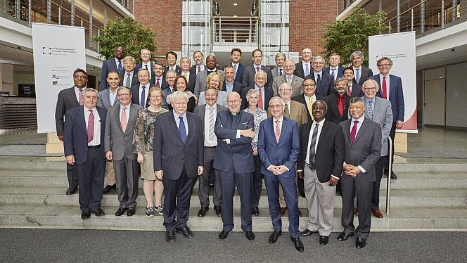 47 Hochschulpräsidentinnen und ‑präsidenten aus Afrika, Asien, Australien, Europa sowie Nord- und Südamerika trafen sich in Hamburg (Foto: Claudia Höhne)
