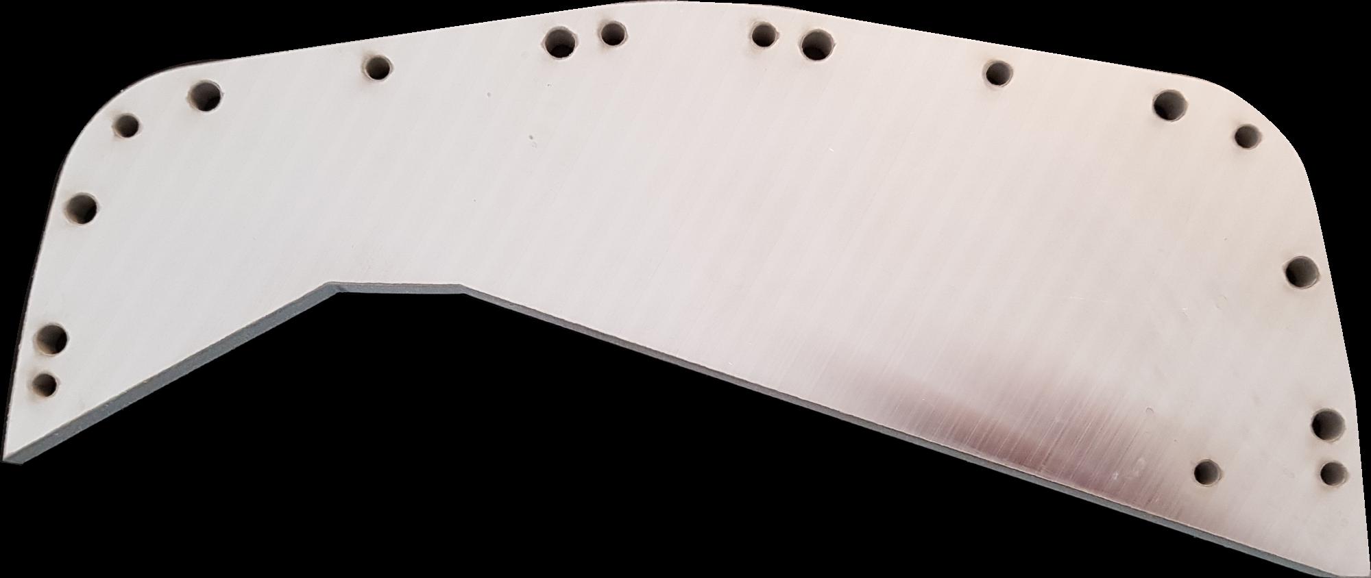 20 mm Aluminium, plangefräst