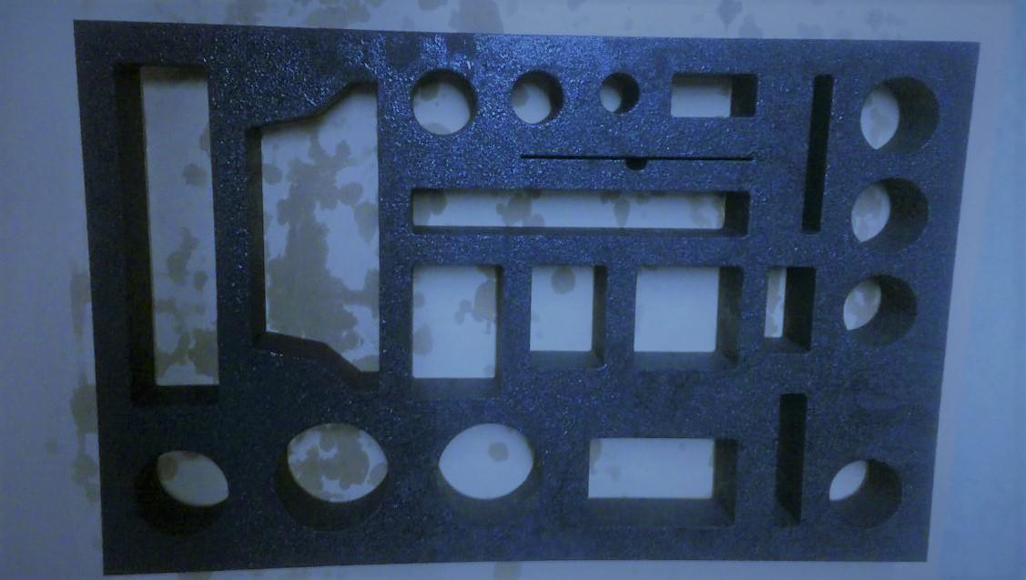 60 mm Schaumstoff, Verpackungsindustrie