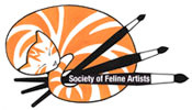 Associate member de la Society of Feline Artists (GB)